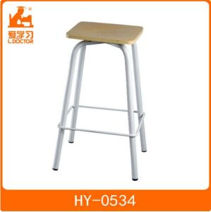 High Adjust Wooden Student Lab Chairs of Classroom Furniture pictures & photos