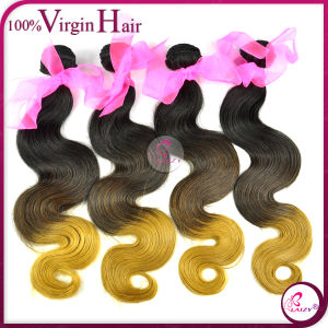 Body Wave Brazilian Virgin Remy Ombre Hair (Ombre hair-BW)