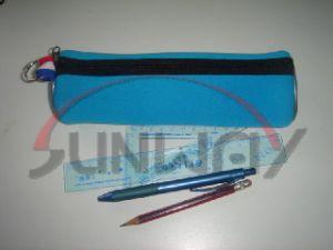 New Design Neoprene Round Pencil Bag Pencil Case (PP0026) pictures & photos