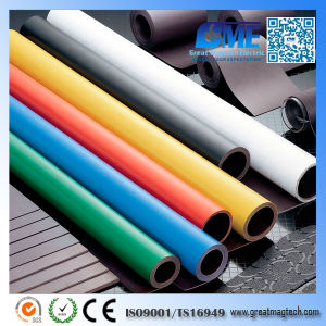 Strong Colored Photo Paper Adhesive Vinyl Rubber Magnet with Rolls/Sheet pictures & photos