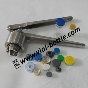 Hand Operated Flip off Top Crimping Tool (HVVC006) pictures & photos
