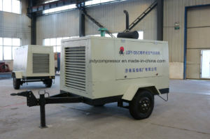 Diesel Mobile Screw Air Compressor pictures & photos