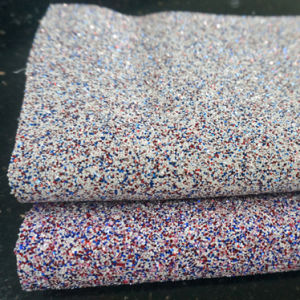 PVC Glitter Leather Fabric Shoes Handbag Wall Paper Material