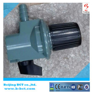 High pressure regulator with aluminum body inlet 0.5-10 bar outlet 0-2bar 0-6kg/H BCT-HPR-04 pictures & photos