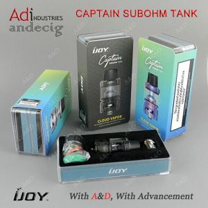 2017 Newest Sub Ohm Tank Ijoy Captain Subohm Tank with 4ml Tank Capacity pictures & photos