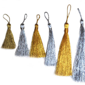 Fashion Trimming and High Quality Metallic Tassels pictures & photos