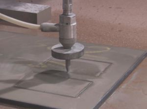 Waterjet Machine/Water Jet Cutting Metal pictures & photos
