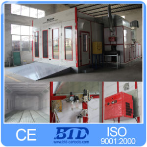 Water Curtain Spray Booth Ceiling Filter Wood Finishing Spray Booth pictures & photos