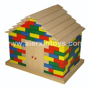 Wooden Building Blocks (81412) pictures & photos