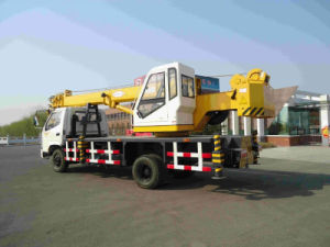 10ton Telescopic Boom Hydraulic Truck Crane pictures & photos