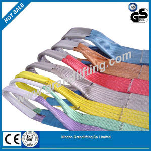 Polyester Webbing Sling End Sling Safety Belt Lifting Sling pictures & photos