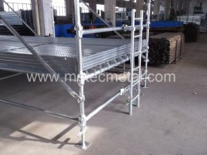 Hot DIP Galvanizing Cuplock Scaffold pictures & photos