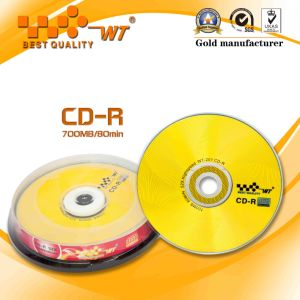High Quality Blank CDR 52x 700MB 80min Low Defective Rate (CD-R)