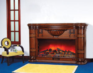 CE Approved European Electric Fireplace (610) pictures & photos