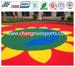 Decorational and Functional Cushion Elastic EPDM Flooring pictures & photos