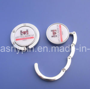 Wholesale Cheap Custom Logo Metal Bag Hook, Bag Hanger Holder pictures & photos