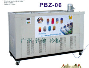 6 Mould Ice Lolly Popsicle Machine with Ce pictures & photos