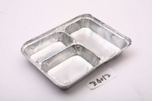 Aluminium Foil Food Container (Z4012) pictures & photos