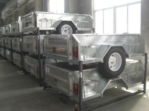 Soft Floor Galvanized Travel Trailer (LH-CPT-07) pictures & photos