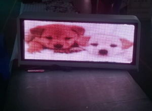 P5 Waterproof Taxi Roof Advertising LED Display pictures & photos