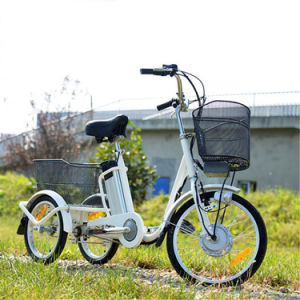 3 Wheel Electric Tricycle/ Electric Bike/ Ebike pictures & photos