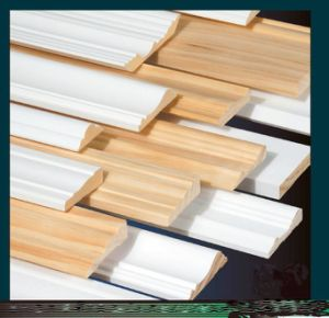 Primed or Lacquered Decorative Mouldings pictures & photos
