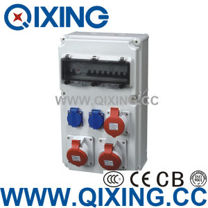 New Design High Quality Combination Socket Box pictures & photos