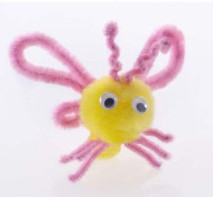 Buttlerfly DIY POM POM Toy (LPP-42)