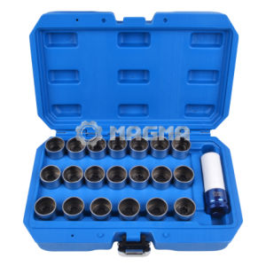 21 PCS Anti-Theft Locking Wheel Lug Nut Socket Set for BMW pictures & photos