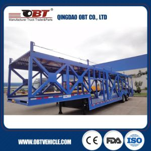 Obt 2 Axle Car Carrier Truck Trailer for Sale pictures & photos