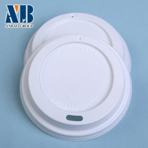 Disposible White PS Lid