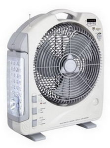 12inch Rechargeable Emergency AC/DC Fan with Light/USB/Radio 292UL