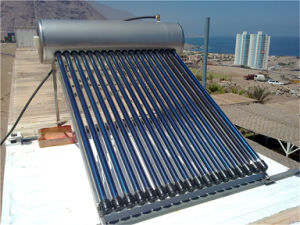 High Efficient Compact Heatpipe Solar Water Heater pictures & photos