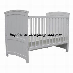 Sleigh Wooden Baby Cot