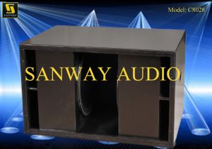 S8028 2000W Dual 18′′ Subwoofer pictures & photos