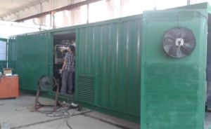500kw Brushless Container Type Gas Generator Set pictures & photos