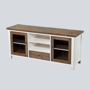 Brief TV Stand Antique Furniture with Drawers