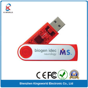 Plastic Twister USB Flash Drive with Full Color Printing pictures & photos