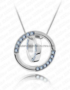 Alloy Rhinestone Round Shape Necklace (1105950)