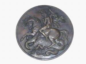 Bronze Sculpture Plate (SL808) pictures & photos