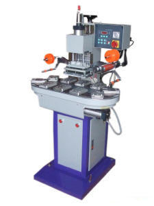 Pneumatic Flat Face Hot Stamping Machine with Conveyer