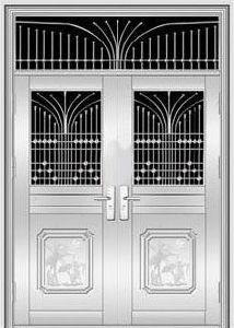 Stainless Steel Door (KD-SS019)