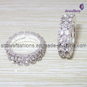 Silver Plated Diamond Jewelry Ring (XRG12000) pictures & photos