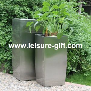 New Decorative Stainless Steel Flower Pot (FO-9007) pictures & photos
