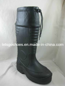 EVA PVC Knee Height Hunting Boots with Cuf&Fur (21IH1302) pictures & photos