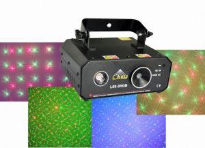 Rg Firefly & Flower Laser Light with 3W RGB LED Background T (L05-3RGB)