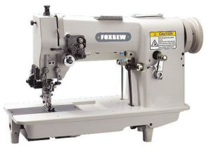 Double Needle Hemstitch Picoting Sewing Machine with Cutter pictures & photos
