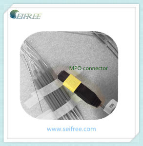 Male MPO Connector for Sm Fiber pictures & photos