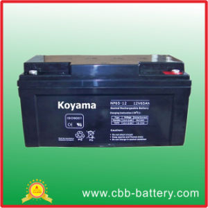 Maintenance Free UPS Battery 65ah 12V for UPS Application pictures & photos