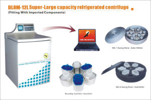 Large Capacity Refrigerated Centrifuge (DL8M-12L) With CE& ISO 13485 Certification